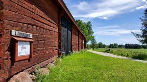 Lådberga gård med anor från 1600-talet.