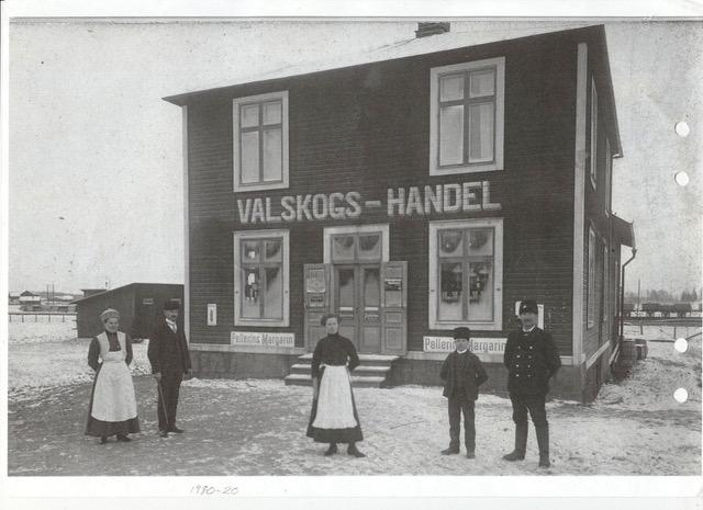 Valskogs handel från 1900-talet